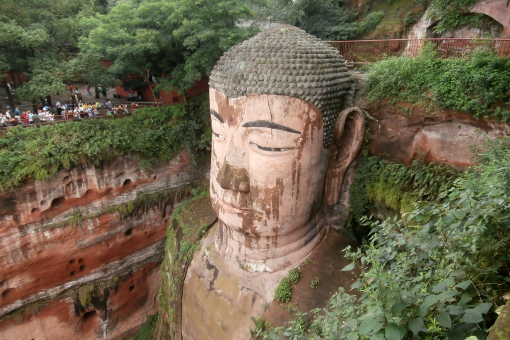 The big Buddha of Leshan