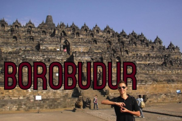 Borobudur in Indonesie