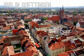 New adventure: a PhD in Göttingen